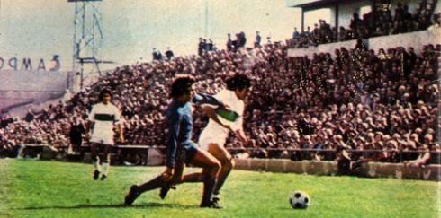 Rubén Cano, en un partido contra el Real Madrid en Altabix.